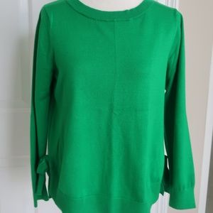 Green Sweater from Cable & Gauge XL